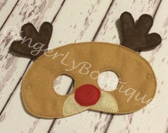 Felt Reindeer Mask