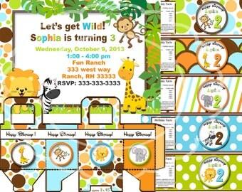 safari birthday party, safari party, safari invitation,  jungle party zoo party zoo birthday party safari  birthday party animal party