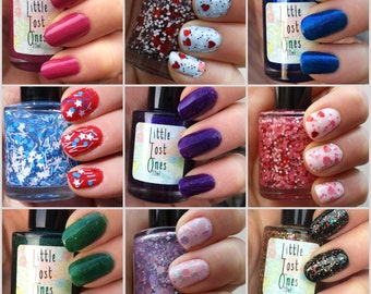 Pick 'n' Mix (4 for 20) Handmade Indie Nail Polish by Little Lost Ones (10ml)