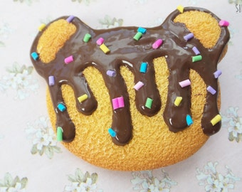 Cookie Bear Clip