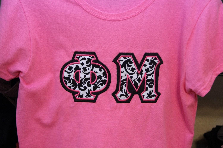 phi mu letter shirt by thesororityspot on etsy With phi mu letter shirts