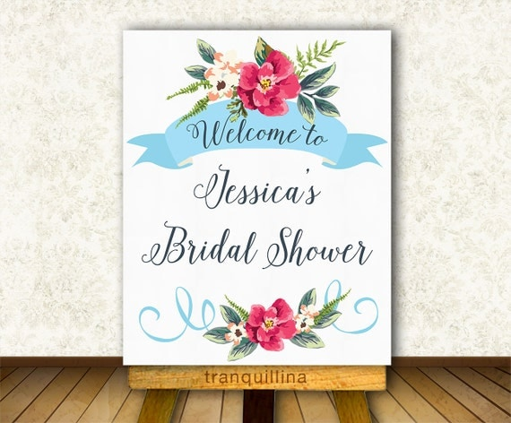 Playful image pertaining to printable bridal shower signs