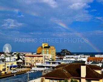 Rainbow Over Ocean City, NJ Fine Art Photography
