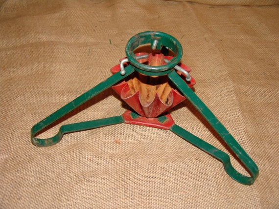 Antique Christmas Tree Stand Decorations : Vintage christmas tree standchristmas standmetal
