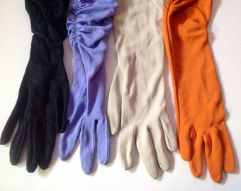 Ladies gloves long and short from Circa 1950's