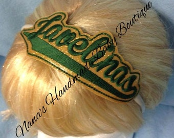 Javelinas - Team Headband Slip On  - DIGITAL EMBROIDERY DESIGN