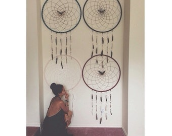 how to make a huge dream catcher