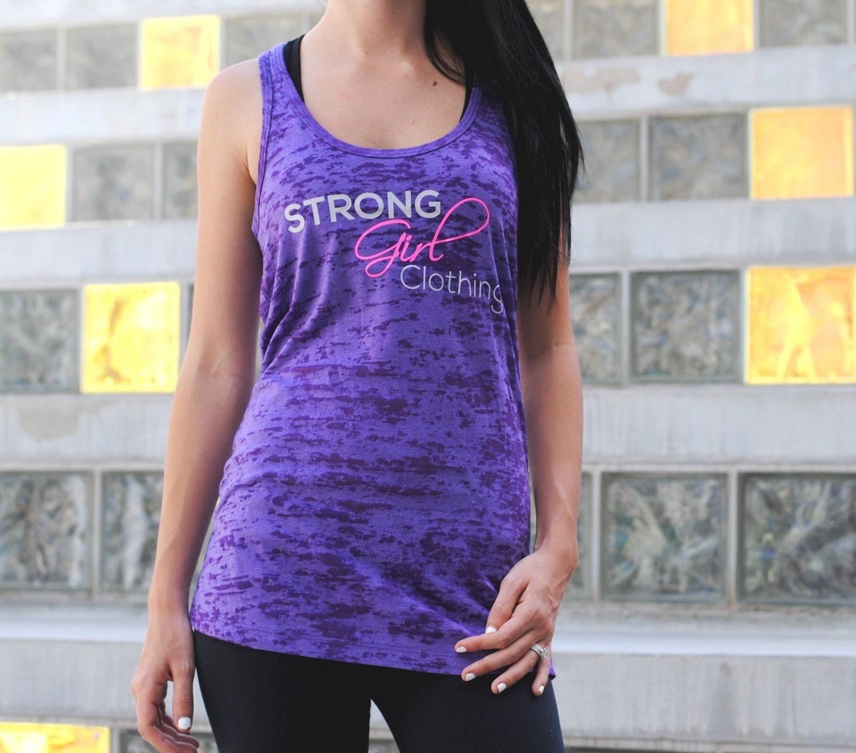 Strong Girl Clothing Tank Top. SGC Tank. Womens Workout Tank.