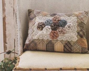 No.72 PDF Pattern Ebook Three Dimension Pillow Cushion Case sewing applique handmade