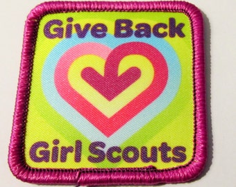 girl scout fun patch camping skills by allthingsgirlscout