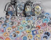 Pinback Button Grab Bag 5 FOR 5