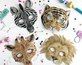Children's Animal Masks