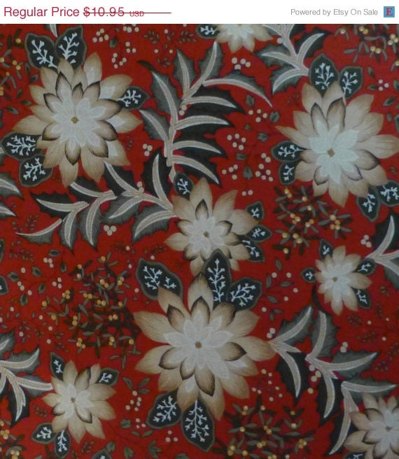 SALE – Cotton Fabric, Quilt Cotton, Home Decor Fabric, Christmas ...