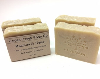Bamboo and Hemp Soap