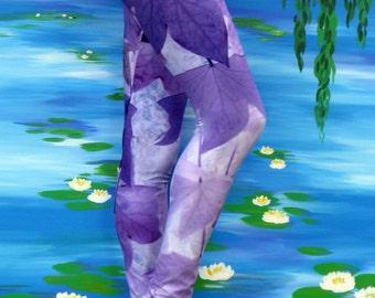 yoga leggings , purple yoga pants, violet , mauve , clothing for women , clothes for girls , womens clothes , cute purple leggings , sports