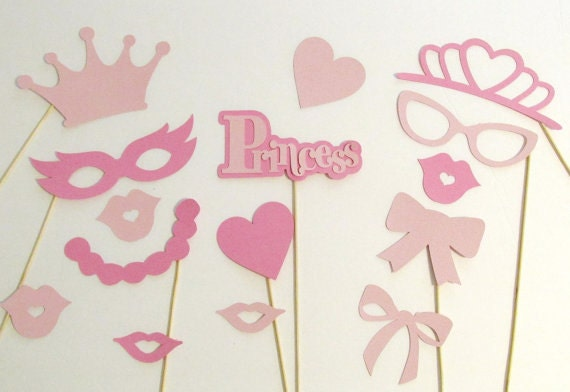 baby shower photo booth props baby shower 15 pc baby girl