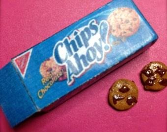 1:6 Miniature Chocolate chip cookies