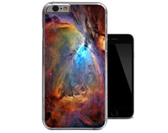 Orion Nebula iPhone 4 4s 5 5s 5c 6 Hard Case Space Galaxy Time Universe Inspired Cover (A143)