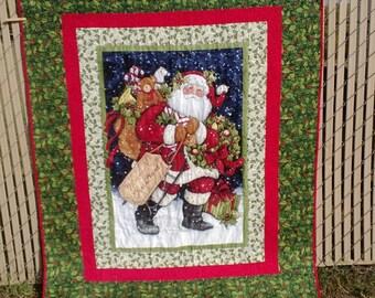 Santa Claus Quilt