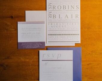 Wedding Invitation Design   RSVP   Directions/Notes