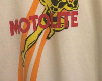 Motolite Automotive Phillipines 1990;s Vintage T shirt  XL