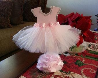 tutu dress centerpiece ballerina baby shower ballerina centerpiece