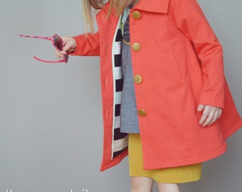 Cousu Coat ~ PDF Sewing Pattern