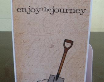 Handmade Humorous Birthday Card - Life's Journey