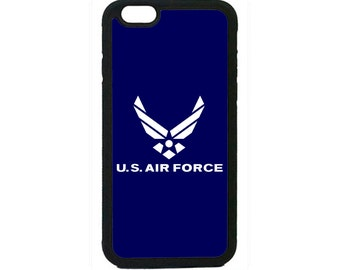 US Air Force USA Military Black Case Cover for iPhone 4 4s 5 5s  5C 6 6s 6 Plus 7 7 Plus iPod Touch 4 5 6 case Cover