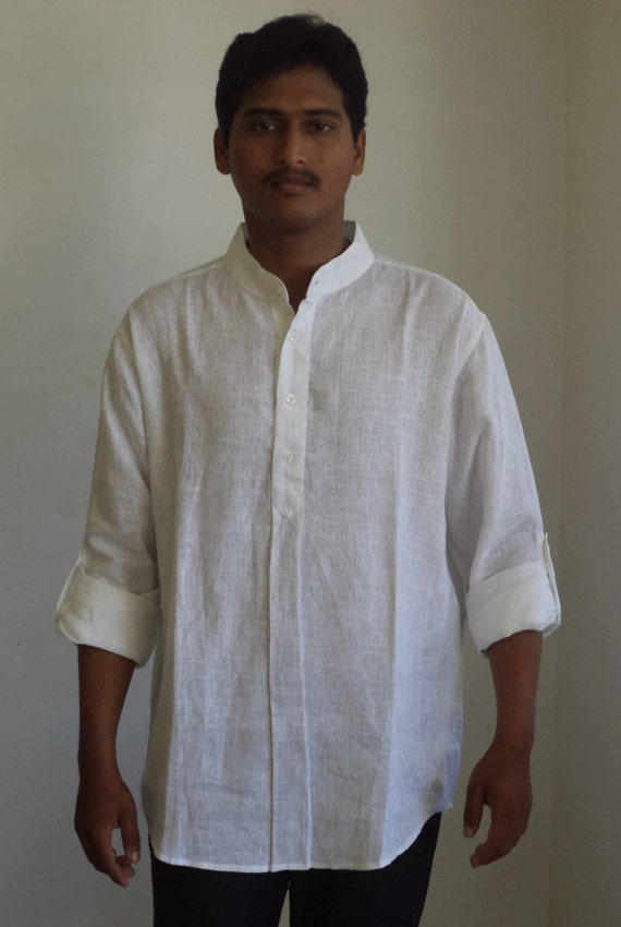 Find nehru collar shirt from a vast selection of Clothing for Men. Get great deals on eBay!