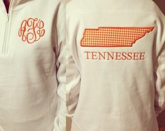 Tennessee Monogram pullover