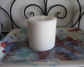 "3x3"" Round Soy Wax Pillar Candle"