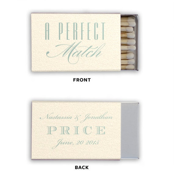 Personalized wedding matches matchbooks matchbook custom printed lots