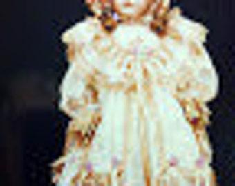 Doll Dress Pattern, BS-536-46