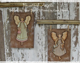 Beautiful Angels by Karen Gilbert, Painting With Friends E Pattern
