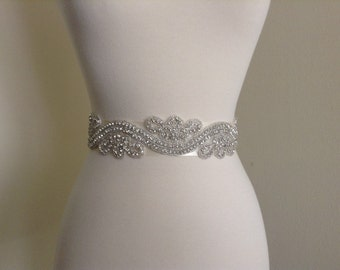 bridal sash, bridal belt, wedding dress belt, wedding dress sash