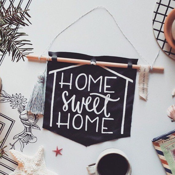 Home Sweet Home Wall Hanging Holiday Decor By
