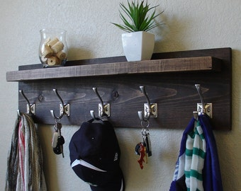 Barcroft Coat Rack with Floating Shelf