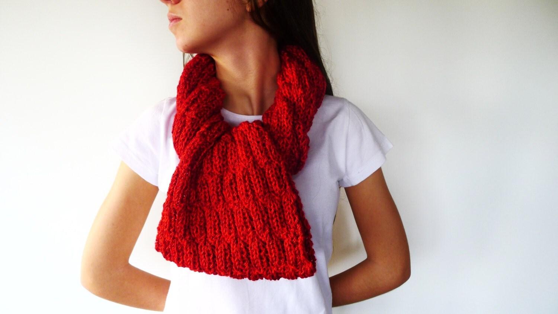 Bufanda mujer de punto hecho a mano cuellos originales moda - Bufandas de lana originales ...