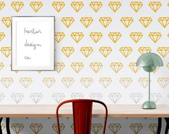 Diamond Wall Decal