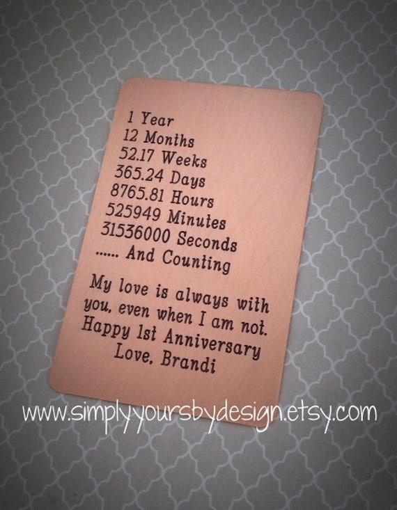 Gift For Husband On Wedding Day Etsy : ... Insert Card,Mens Anniversary,Gift for Him,Weddings,Husband Gift