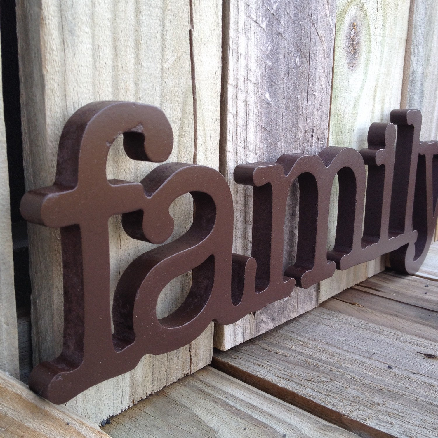 Wooden Family Sign Wall Hanging Wall Decor