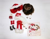 Pullip Carol stock outfit complete christmas set +  eyes