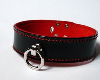 BDSM Leather Collar