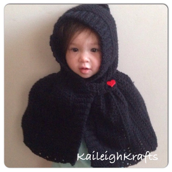 how to make a hooded cape for a child