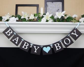 Baby Boy Banner, Its A Boy banner, chalkboard banner, Baby Shower Banner, baby shower decorations, boy baby shower, baby shower decoration