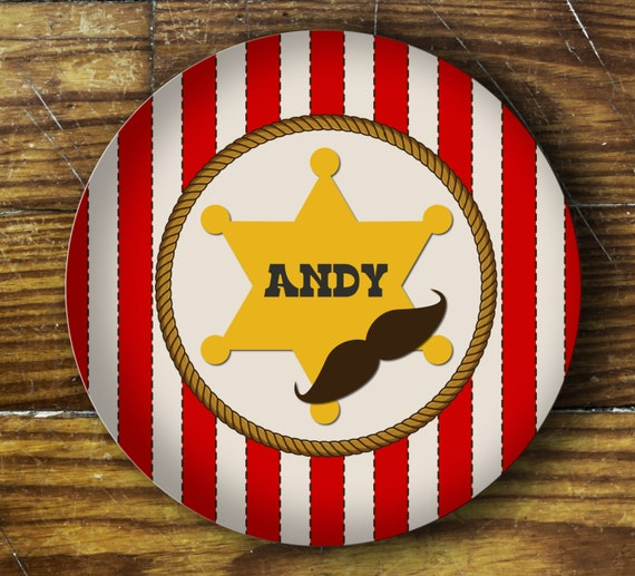 Personalized Dinner Plate or Bowl - Andy