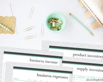 Small Business Tax Kit printable PDF– Savable, Printable, Monthly Planner