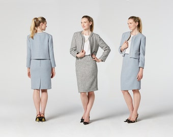 Tweed Jacket Sewing Pattern