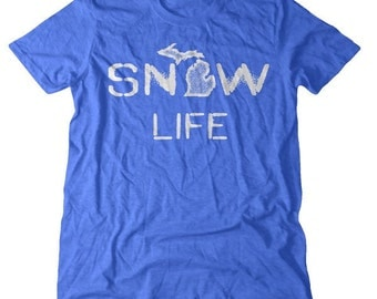 Michigan Snow Life Tee